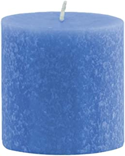 product image for Root Candles Unscented Timberline Pillar Candle, 3 x 3-Inches, Marine