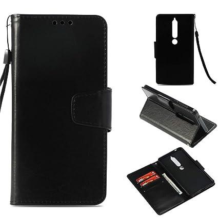 new style 186bb be967 Amazon.com: Find box Xperia E5 Case, Retro Flip PU Slim Fit Leather ...