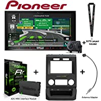 Pioneer AVIC-8201NEX 7 Navigation AV Receiver w/Backup Camera iDatalink KIT-FTR1 Factory System Adapter for select Ford pickups, ADS-MRR Interface Module and BAA22 Antenna Adapter and a SOTS Lanyard