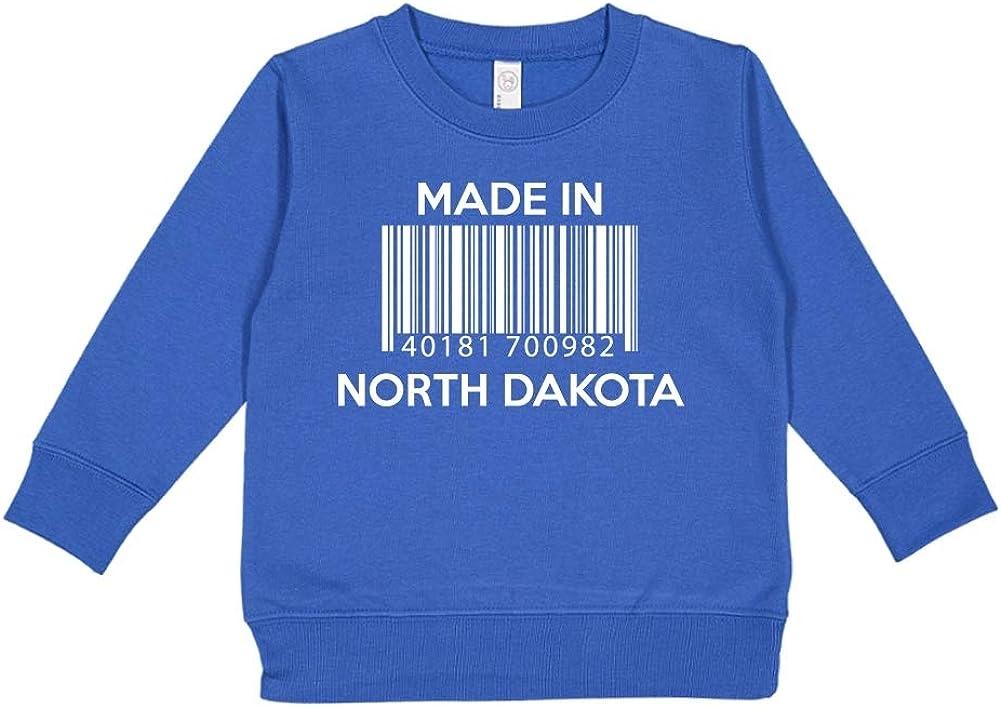 Made in New Hampshire Toddler//Kids Sweatshirt Barcode