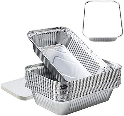 8''x6''x2''Aluminum Pans Foil Pans with