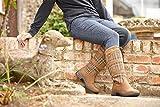 Dublin Ladies River Plaid Boots 8.5