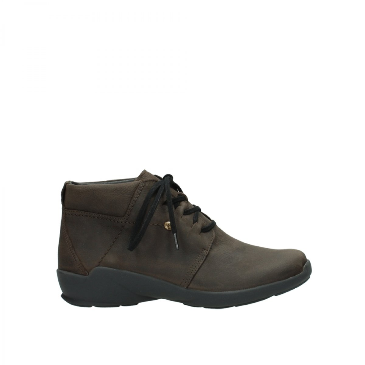 Wolky Comfort Lace up Shoes Jaca - 11302 Brown Nubuck - 38