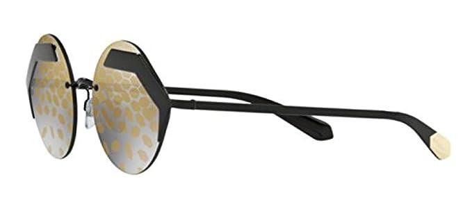 Bvlgari 0Bv6089 128/T9 55, Gafas de sol para Mujer, Negro ...