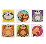 2'' SLOTH TATTOOS, Case of 60