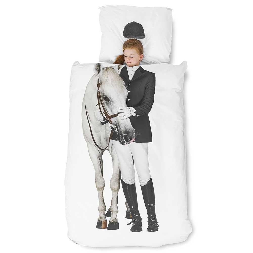 Snurk Equestrian Horse Duvet, Twin by SNURK