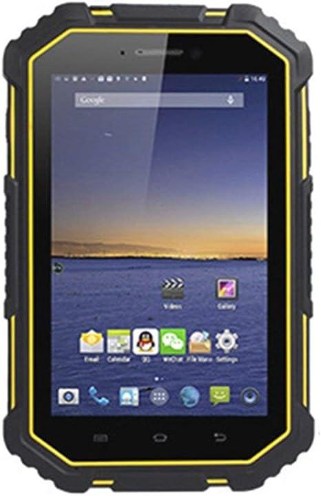 Tableta de 7 Pulgadas IP67 Unicom Mobile Dual 4G Soporte de Carga NFC Android PC Tableta para Exteriores Negro y Amarillo: Amazon.es: Electrónica