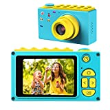 BlueFire Kids Digital Camera, Mini 2 Inch Screen Children's Camera, 8MP HD Child Camcorder, Best Digital Camera for Boys and Girls (Blue)