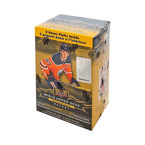 2018-19 Upper Deck Series 1 Hockey 12ct Blaster Box