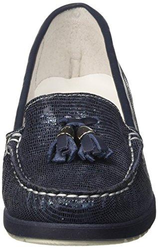 Melluso Donna, Women's Loafers Blue (Blu Blu)