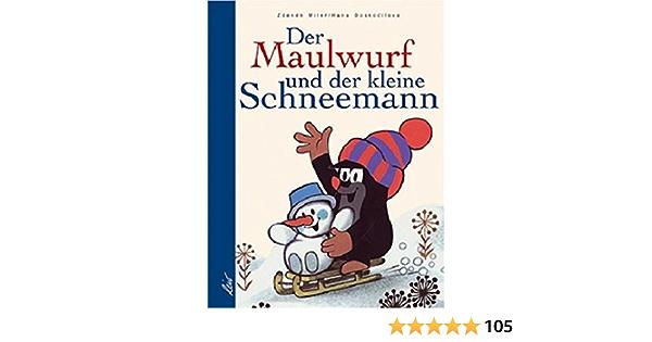 Kleiner Maulwurf Schneemann