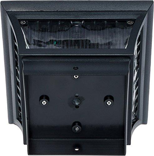 GreenLighting Aluminum Solar Post Cap Light 4x4 Wood or 5x5 PVC (Black, 4 Pack) by GreenLighting (Image #3)