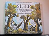 Sleep Is for Everyone, Paul Showers, 0690004257
