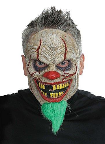 Halloween Mask- Bad News Clown Mask -Scary Mask