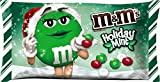M&M'S Holiday Mint Chocolate Candy 9.9-Ounce Bag (Pack of 6)