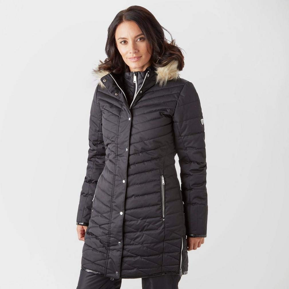 8fd3a77a0a Dare 2b Women s Svelte and Breathable Quilted Outdoor Ski Waterproof  Insulated Jacket  Amazon.co.uk  Sports   Outdoors