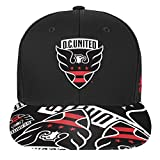 Outerstuff MLS D.C. United R S8FDJ Youth Boys Flatbrim Snapback, One Size (8), Black