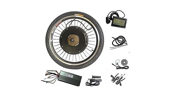 WENHU 700C 500W-Kit de conversión de Bicicleta eléctrica Kit de ...