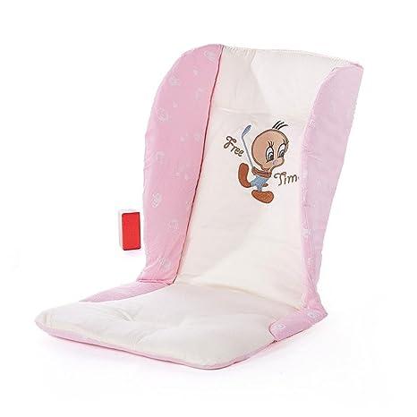 Cojín cochecito cochecito Matte algodón Baby Safe silla antichoque Esterilla Para Carrito rosa Rosa