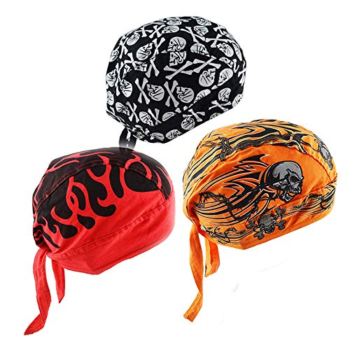 Upsmile Cycling Doo RAG Skull Cap Hat Bandana Wrap Breathable Helmet Liner -