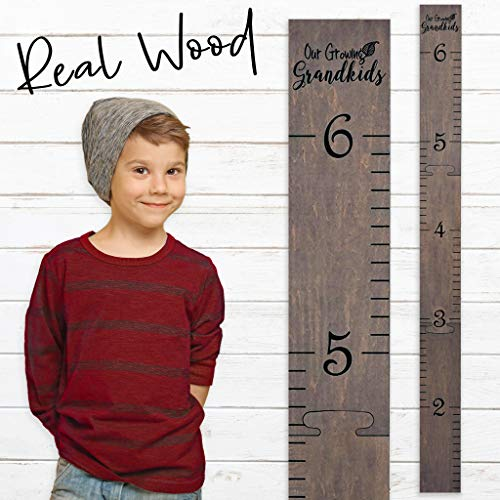 Wooden Ruler Growth Charts Grandkids product image