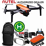 Autel Robotics EVO Foldable Quadcopter with 3-Axis Gimbal Starters Deluxe Bundle