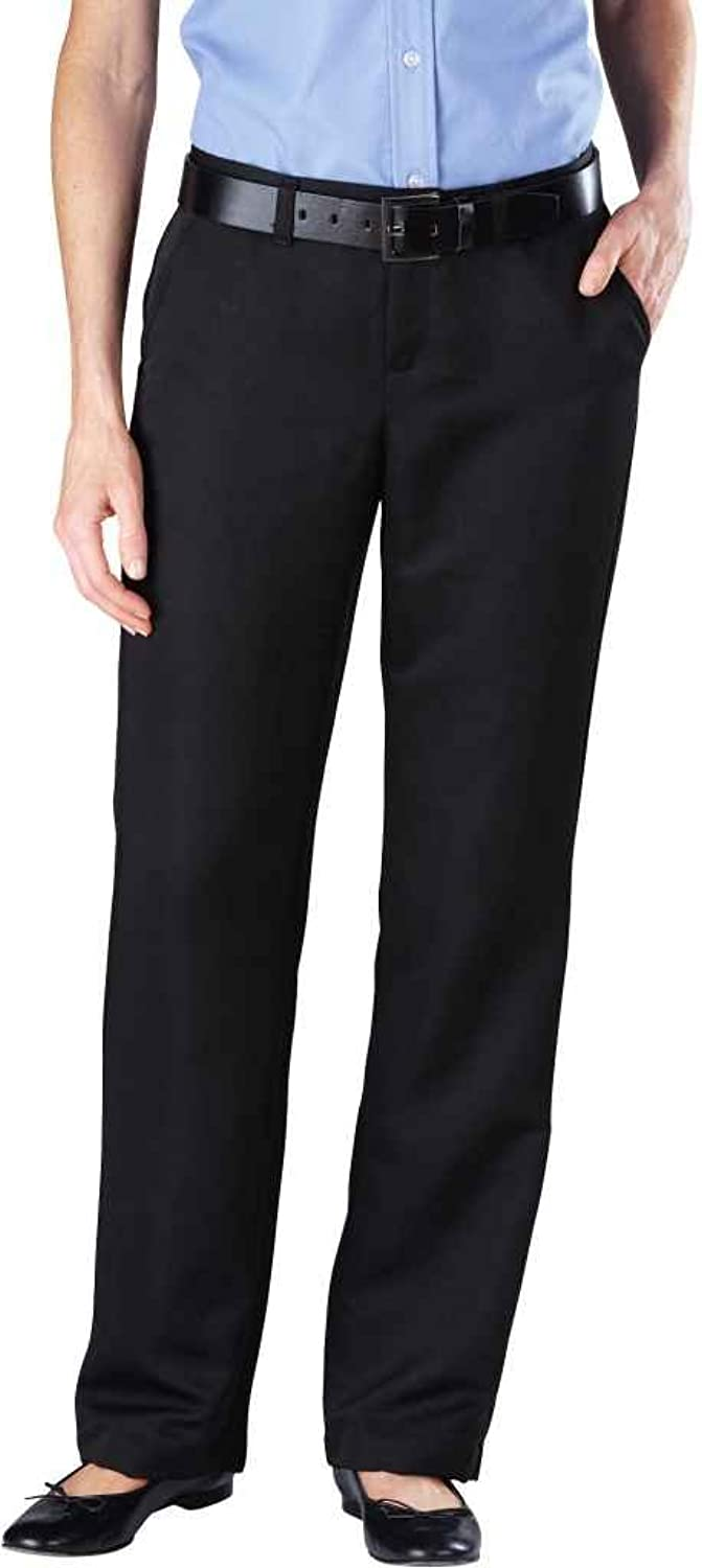 Dickies FP831 Women's Micro Denier Executive Pant Black Size 2 UU