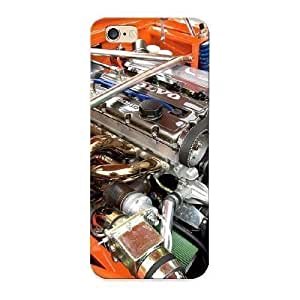 03678121721 New Premium Flip Case Cover Car Engine Skin Case For Iphone 6 Plus As Christmas's Gift
