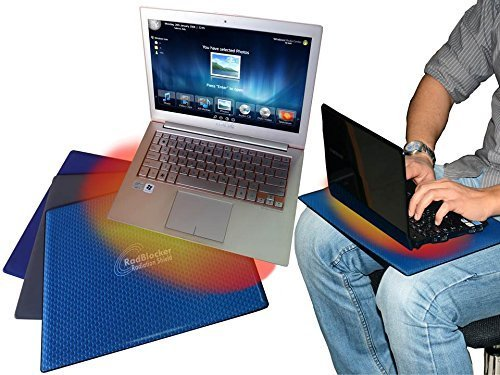 ProShield™ Radiation Free Laptop Tray stand - BY Smart&Safe - Color Blue