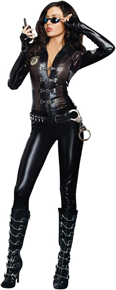 Womens Special Ops Costume, Black