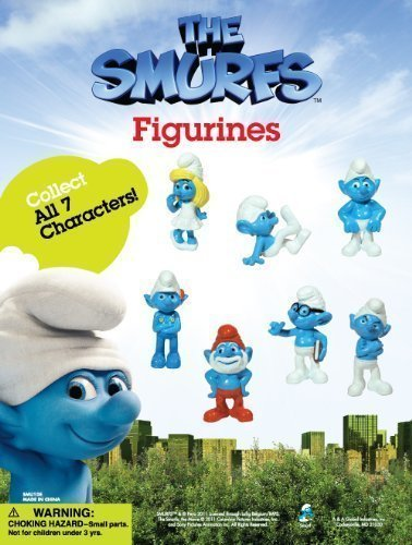 Smurfs Figurine (2011 THE SMURFS MOVIE 1.5