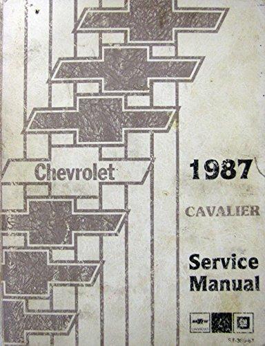 cavalier service manual - 8
