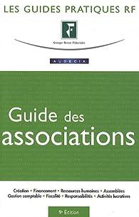 Le guide des associations par  Groupe Revue fiduciaire