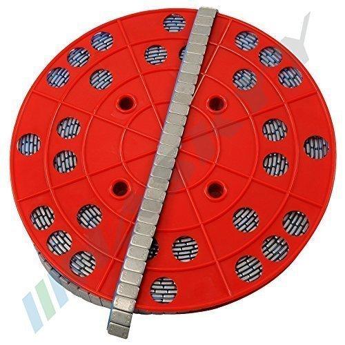 6KG ROULEAU Masses d'équilibrage Masses collantes Poids acier 1200x5g 12x5g Barrette adhésive avec ARÊTE DE BORDURE galvanisé& revêtement synthétique 60%OFF