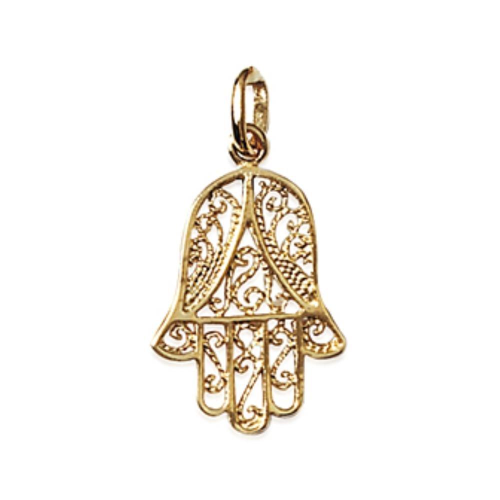 Isady – Fatima Gold – Anhänger Religion – 18 Karat (750) Gelbgold platiert PenFatimaOr