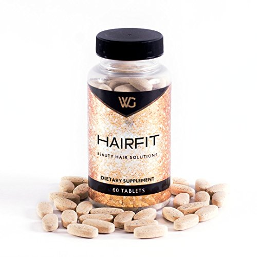 HairFit: The Best Hair Growth Vitamins| Biotin For Stronger Hair, Potent blend of Vitamins,Herbs,Amino & Acids to encourage Stronger, Thicker, Longer Hair. for Men & (Potent Blend)