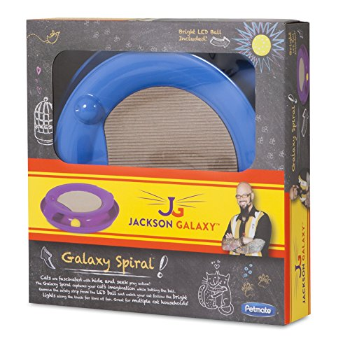 JACKSON GALAXY SPIRAL ASSORTED COLORS
