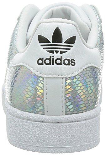 adidas superstar blanc irisé