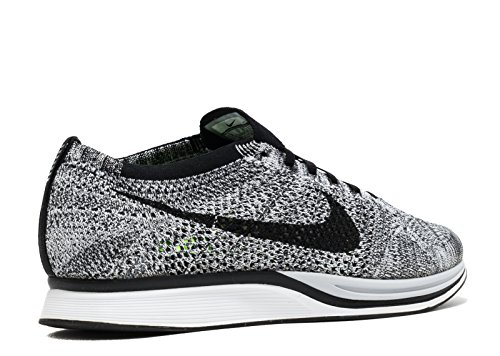 White Flyknit Running 's volt Racer Black Shoes NIKE Men xqYHZwqP