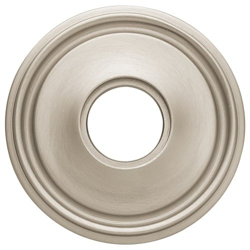 Baldwin 5070.I Single Estate Rosette for Passage Functions, Satin - Nickel Door Passage Estate