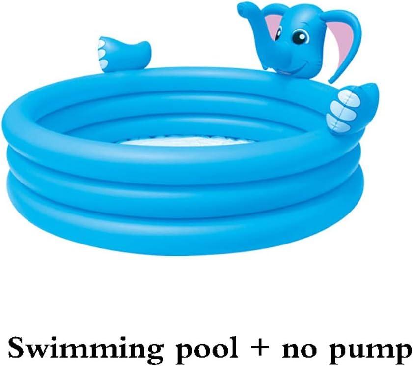 Piscina Plastico | Piscina Inflable Familiar De Swim Center, Segura Y Estable | Antideslizante, Resistente Al Desgaste | Plástico PVC | Capacidad De Carga Máxima: 300 Kg: Amazon.es: Jardín
