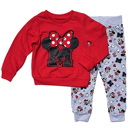 Minnie Mouse Little Girls Toddler Pant & Top Set (5T) ()