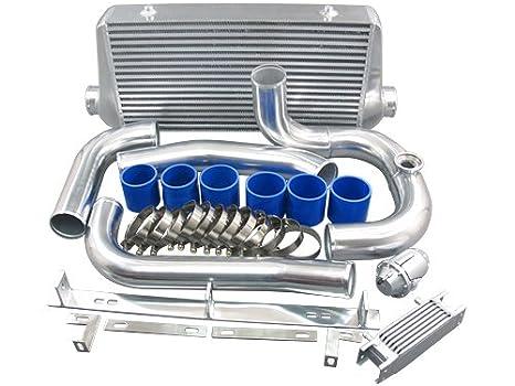 Intercooler Kit para 1993 - 2002 Toyota Supra MKIV con 2jz-gte Factory Twin Turbo: Amazon.es: Coche y moto