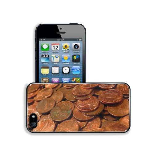 Penny Coins Money Currency Copper Apple iPhone 5 / 5S Snap Cover Premium Aluminium Design Back Plate Case Customized Made to Order Support Ready 5 inch (126mm) x 2 3/8 inch (61mm) x 3/8 inch (10mm) MSD iPhone_5 5S Professional Metal Case Touch Accessories Graphic Covers Designed Model Sleeve HD Template Wallpaper Photo Jacket Wifi 16gb 32gb 64gb Luxury Protector Wireless Cellphone Cell Phone