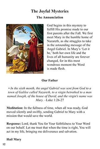 US Gifts Aquinas Press Prayer Book - Scriptural Rosary (Pack of 5)