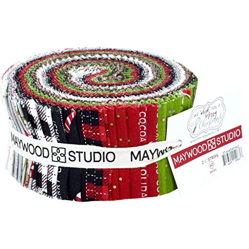 (Maywood Studio We Whisk You a Merry Christmas! Jelly Roll by Kim Christopherson ST-MASWYMC)