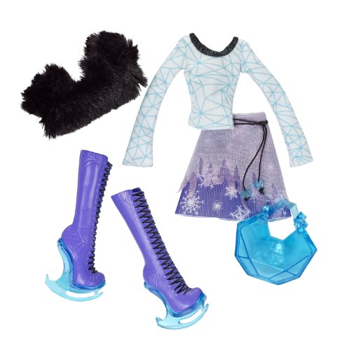 Monster High Abbey Bominable Fashion Pack (Monster High Ice Skates)