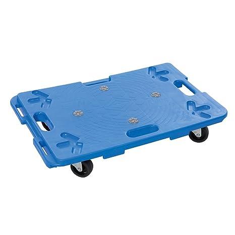 Silverline 407053 Rollbrett zusammensteckbar blau