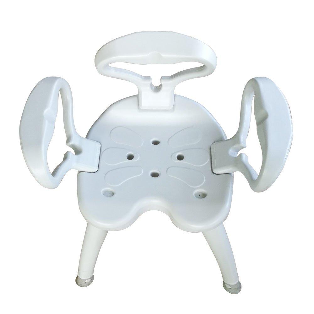 Amazon.com: Lovinland Plastic Tub and Shower Seat Bath Chair SPA ...