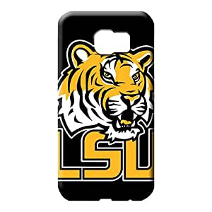 samsung galaxy s6 edge Extreme Protector Scratch-proof Protection Cases Covers cell phone carrying skins lsu black bg